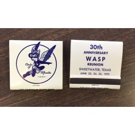 30th Anniversary WASP Matchbook