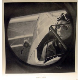 Rearview Mirror- Stearman Print
